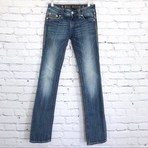 Rock Revival Alanis Straight Jeans Low Rise